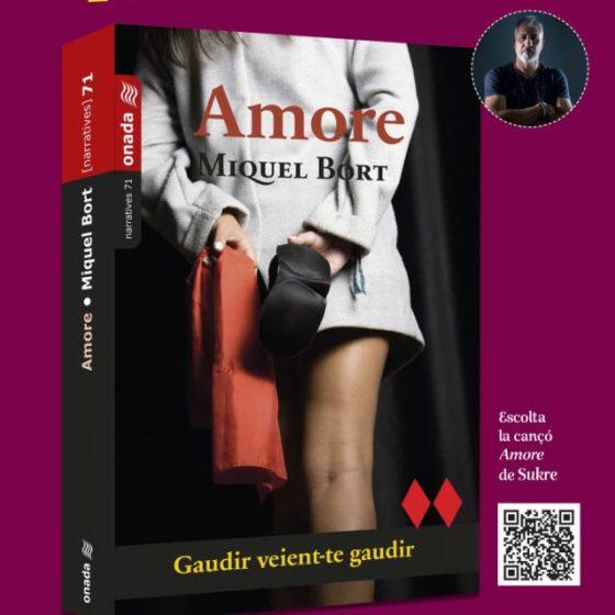 Amore, la novela erótica de Miquel Bort de este Sant Jordi